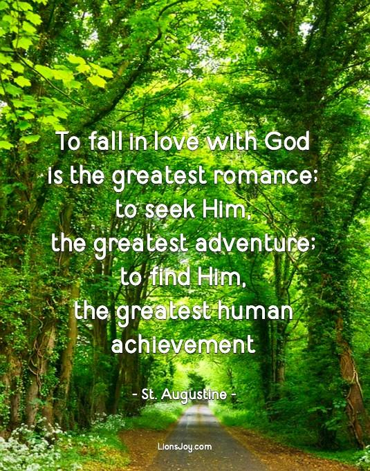Love with God